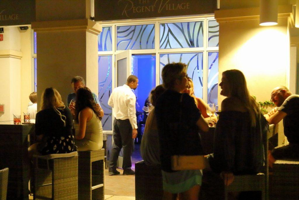 Blu Bar and Lounge at The Regent village